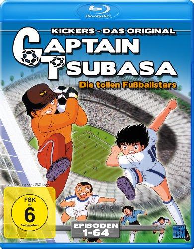 Captain Tsubasa - Die tollen Fußballstars Episoden 01-64 (Blu-ray) für 15€ (Amazon Prime)