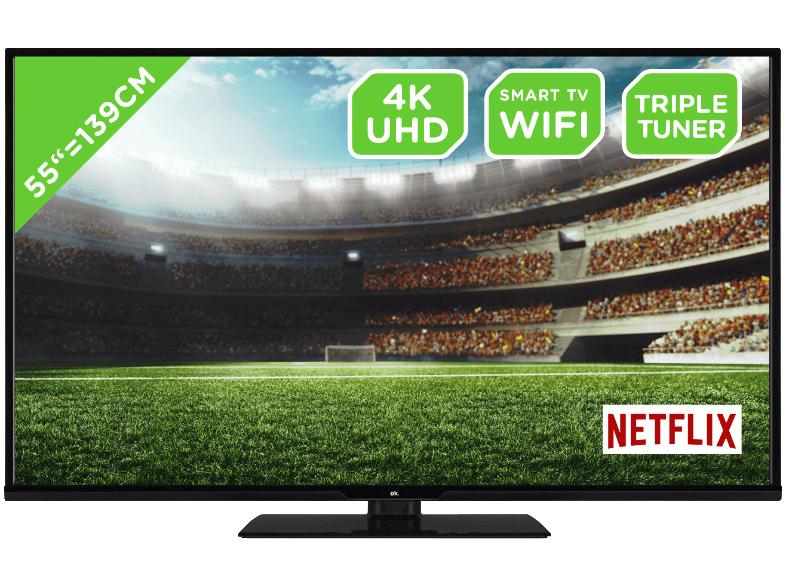 55 Zoll LED 4K HDR TV für 399 Euro inkl. Versand | ODL 55651U-TIB (UHD, HDR, 4K, SMART TV) [Saturn] [MediaMarkt]