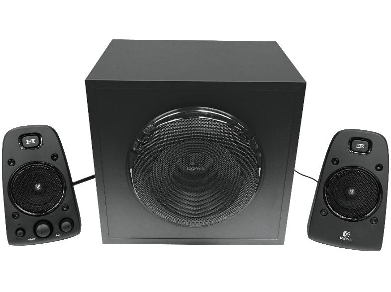 Logitech Z-623 Lautsprechersystem Für PC 2.1-Kanal 2 Lautsprecher, Subwoofer + Logitech Bluetooth Adapter für 66,-€ [Mediamarkt]