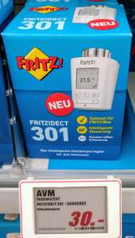 [lokal] [Media Markt Berlin Steglitz] Fritz! Dect 301 für 30 Euro