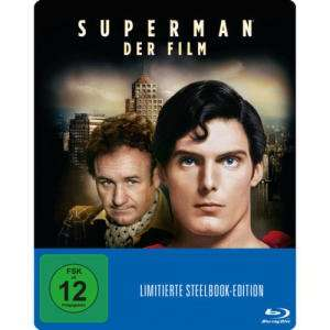 Superman - Der Film Limited Steelbook Edition (Blu-ray) für 5€ versandkostenfrei (Media Markt)