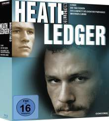 [JPC] Heath Ledger Collection Blu-ray / Candy, Die vier Federn, Das Kabinett des Doktor Panassus, Brothers Grimm