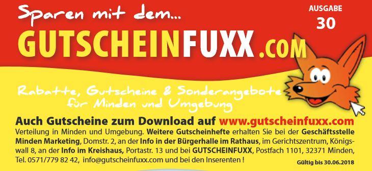 div. Gutscheine (z.B. 30€ Sofortauszahlung Vodafone, 20% Apotheke, 20% Friseur) Lokal Minden