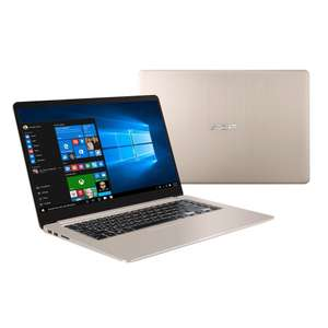 "[computeruniverse@eBay] ASUS VivoBook S15 - 15.6"" Full HD Notebook (1920x1080, i7-8550U, 8GB DDR4, 1TB + 256GB SSD, GeForce 940MX 2GB, USB-C, Windows 10, 1.70kg) für 833€ bzw. 769€ (ebay.AU-Trick am 15.06.)"