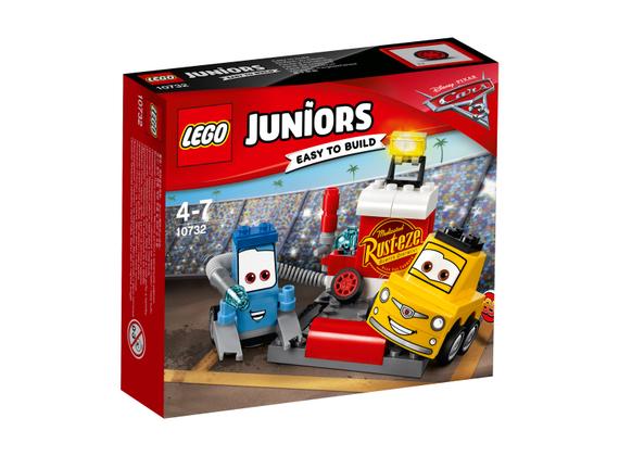 [Dodax oder Amazon +] Lego Juniors 10732 - Guido und Luigis Pit Stopp, Kinderspielzeug