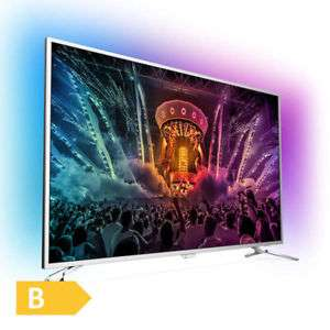 "[deltatecc] Philips 49PUS6561 - 49"" 4K UHD Smart TV (3840x2160, HDR, 120 Hz nativ, 8bit+FRC, 400 cd/m², Triple Tuner mit DVB-T2, DTS, Dolby Digital Plus, Android TV, 36ms Input Lag, 3-seitiges Ambilight)"