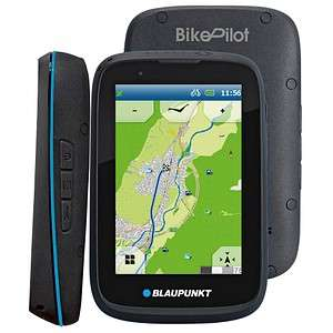Blaupunkt BikePilot² Fahrrad- und Outdoor Navigation 8.9cm 3.5Zoll Display Navigationssystem