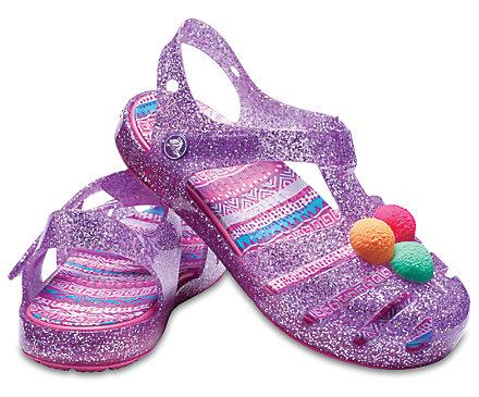 Kids Crocs Isabella Novelty Sandale für Mädchen // Gr. 19 - 31