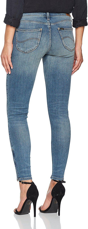 LEE Damen Skinny Jeans Scarlett Cropped Blau (Brooklyn Retro Kjmp) Amazon Prime (versch. Größen, geringer Bestand)