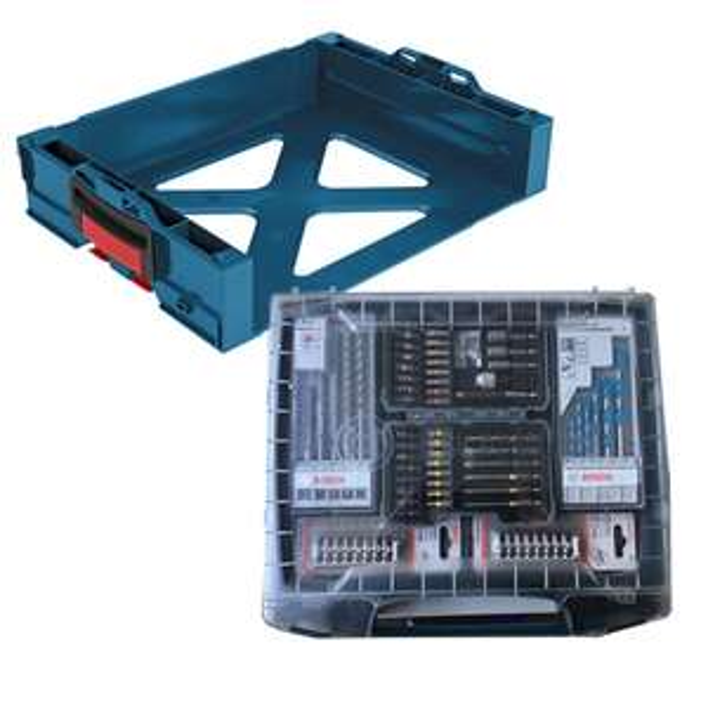 [werkzeugstore@eBay] Bosch I-Boxx active rack Professional + 68tlg. Zubehör Sortimo Aufnahmesystem