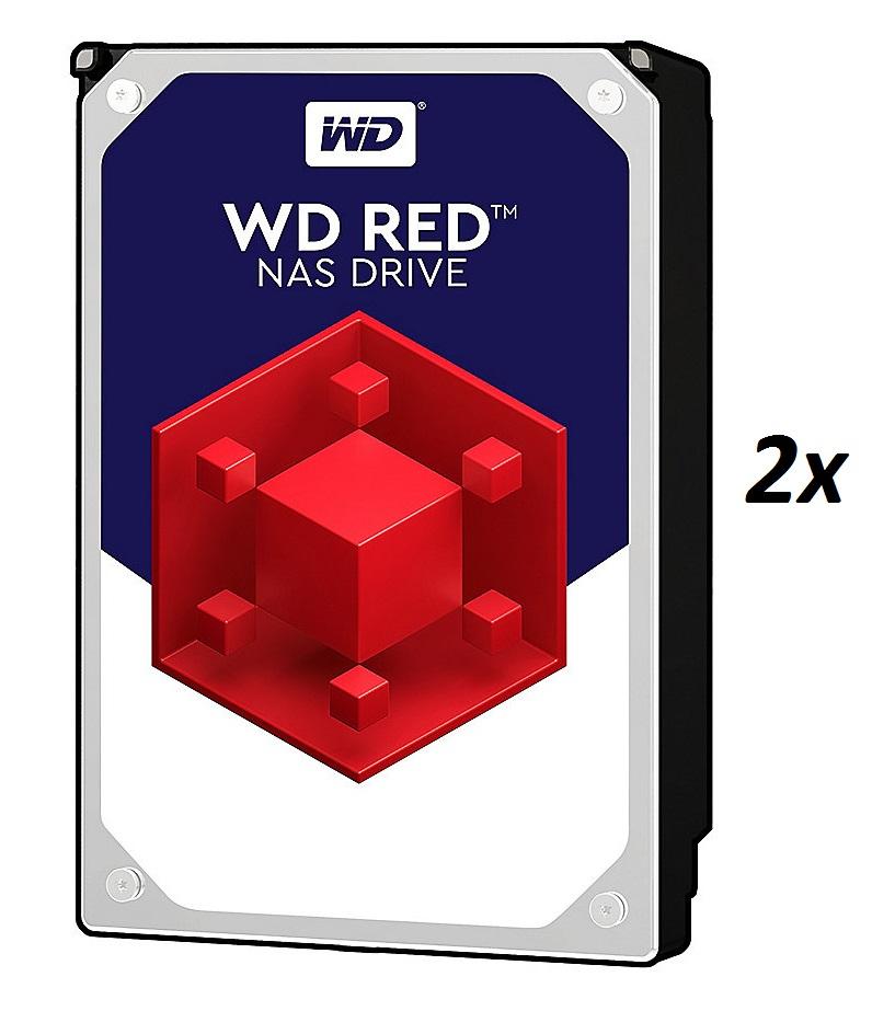 """[cyberport]  WD Red 2er Set WD80EFAX (8TB, 5400rpm, 256MB, 3.5"""", SATA600, CMR, 3 Jahre Garantie)"""