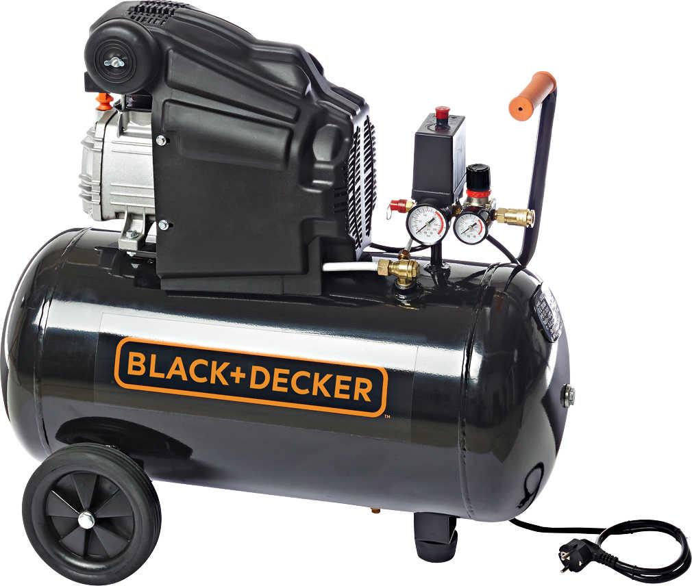 BLACK+DECKER Kompressor BD 205/50 , 2 PS 50 Liter Drucklufttank (Kaufland bis 20.6.)