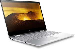 "HP Envy 15 x360: 15,6"" FHD Touch IPS, i5-8250U, GeForce MX150 4GB, 8GB RAM, 1TB HDD + 128GB SSD, HDMI 2.0, USB-C 3.0 mit DisplayPort, Bel. Tastatur, Win 10"