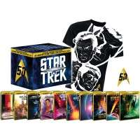 Star Trek I-X - Steelbook Collector's Box inkl. Anstecknadel + T-Shirt (Blu-ray) für 49,76 EUR (Media-Dealer)