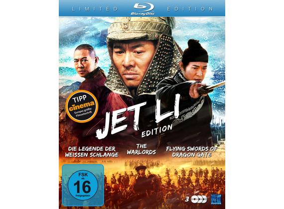 Jet Li Edition (Limited Edition) 3 Blu-rays für 5,96 EUR (Dodax)
