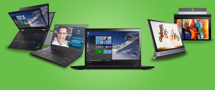 (Shoop) Lenovo 6% Cashback + 50€ Shoop.de-Gutschein* + 10% Rabatt auf alles