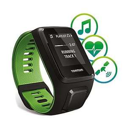 [b4f] TOMTOM GPS-Running-Uhr Runner 3 Cardio + Musik, large (auch small)