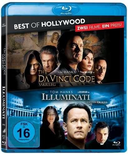 Illuminati + The Da Vinci Code - Sakrileg (2x Blu-ray) für 7,99€