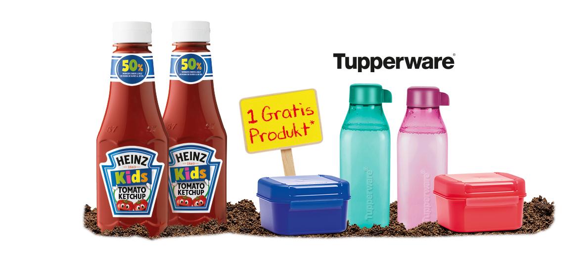[Heinz Schulstart Aktion] 2x Heinz Kids Ketchup kaufen -> Tupperware Prämie gratis