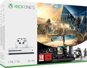 [Digitec CH] XBOX ONE S 4K 1 TB inkl. Shadow of War / Assassin's Creed Bundle / Playerunknown's Battlegrounds Bundle​ / Sea of Thieves