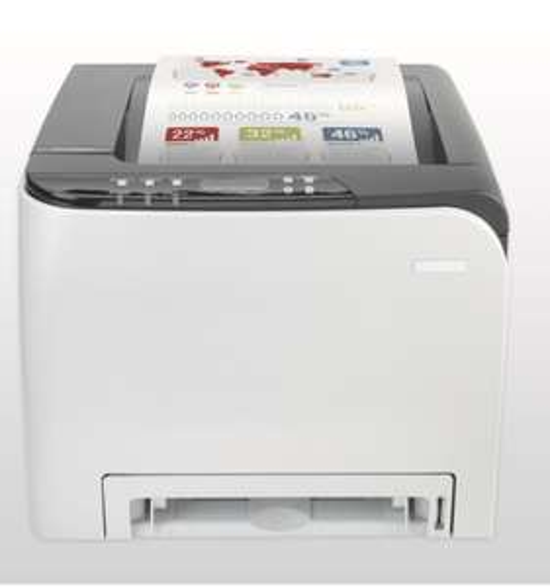 RICOH SP C252DN Farb-Laserdrucker (A4, Drucker, Duplex, WLAN, USB) [Office-Partner]