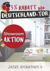 LOKAL: HOME24.de 5% Rabatt für jedes Tor von Deutschland am folgenden Werktag im Showroom Stuttgart