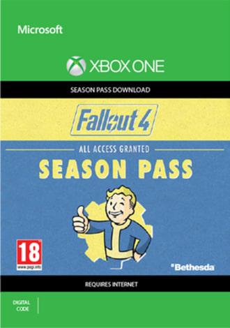 Fallout 4 Season Pass (Xbox One Digital Code) für 2,36€ (Game UK)