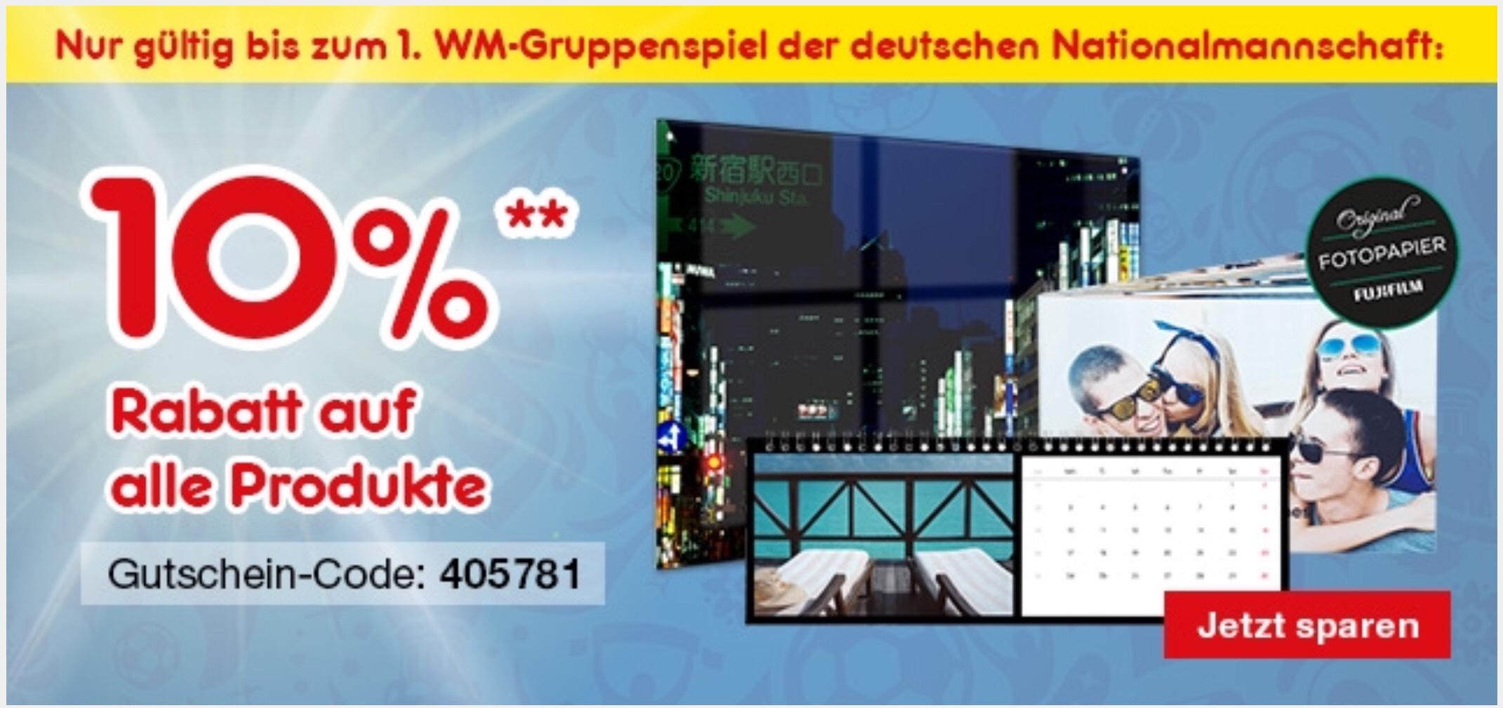 [Netto MD Fotos] 10% Rabatt auf alle Foto Produkte (online)