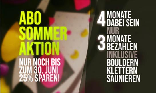 """Lübeck """"Klettern + Bouldern + Sauna im Abo"""" 4 Monate lang zum Preis von 3"""