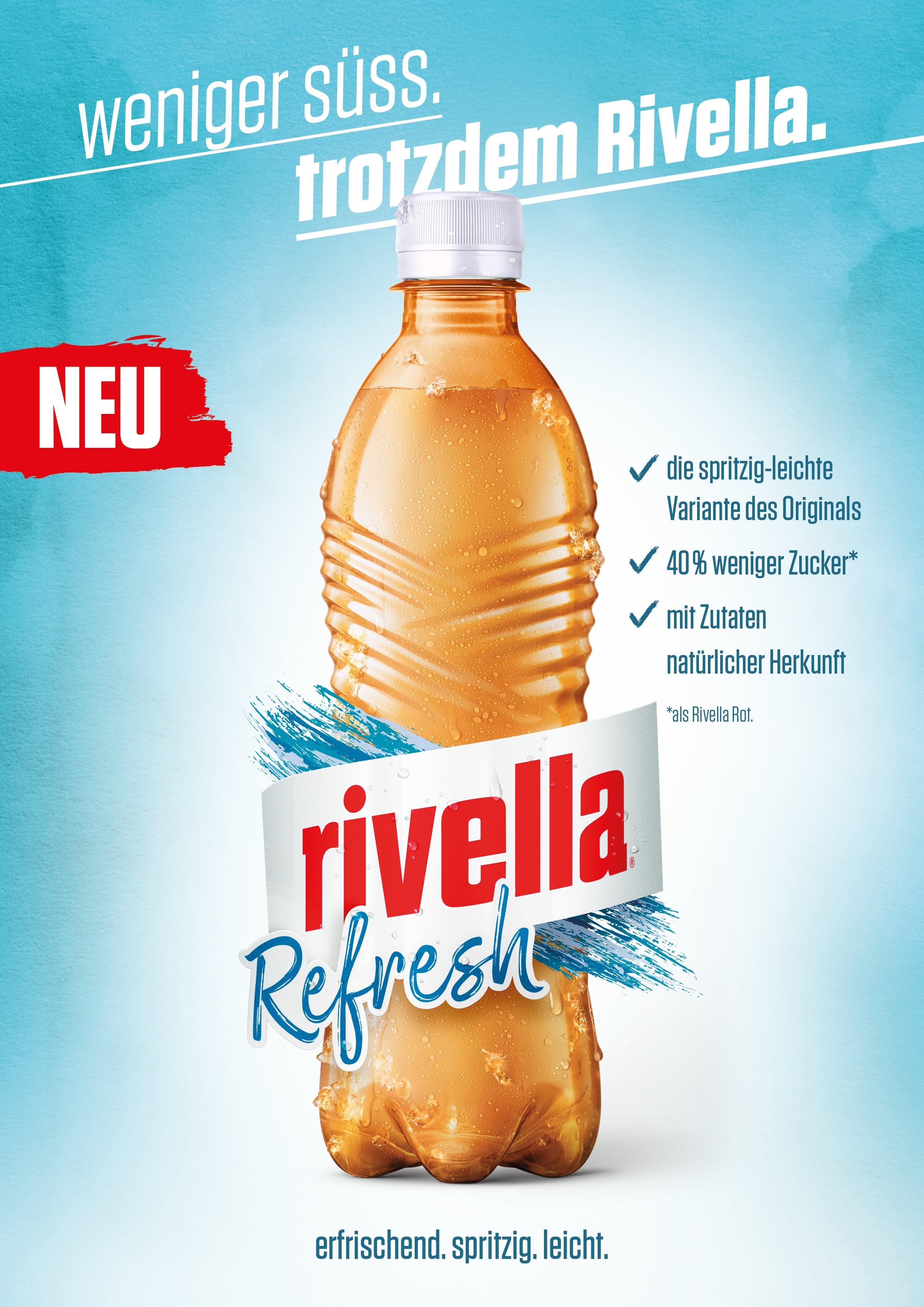 Neuer 0,50€ Coupon für Rivella Refresh 1,0l bis 31.03.2019
