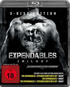 The Expendables Trilogy (Blu-ray) für 11,75€ & Indiana Jones The Complete Adventures (Blu-ray) für 11,75€ (Thalia)