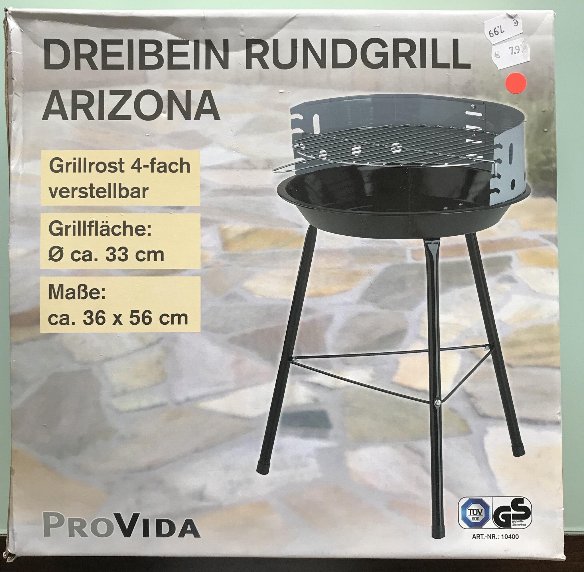 Kodi lokal Duisburg - Einfacher 33cm Grill für 3,99€