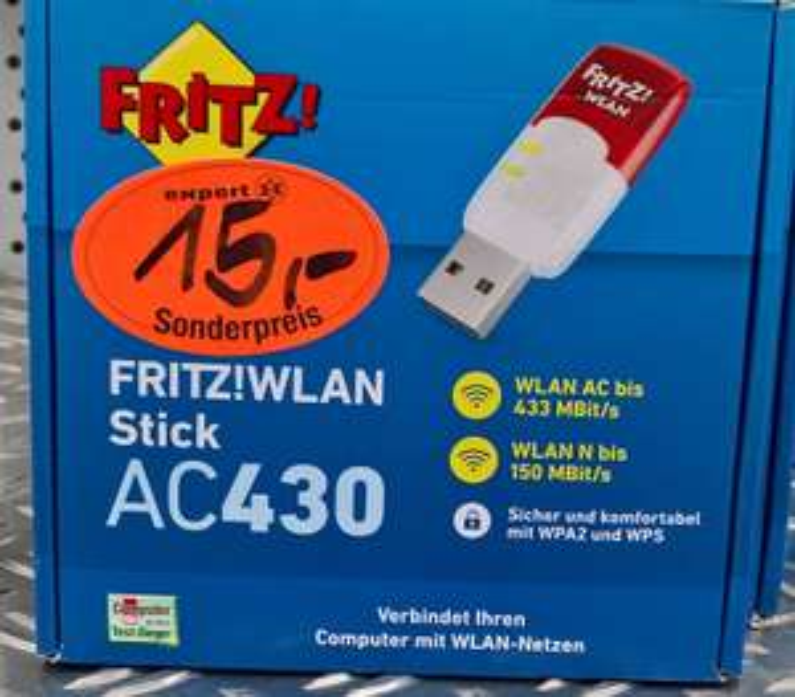 AVM Fritz! ac 430 WLAN USB Adapter [lokal @Tootal Technik Markt]