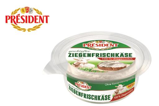 100% Cashback einmalig auf Président Ziegenfrischkäse bei Scondoo