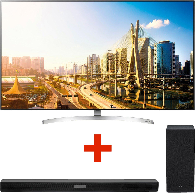"""LG Angebots-Wochenende bei Saturn - z.B. LG 55SK8500 55"""" 4K UHD TV + LG SK 5 2.1 Soundbar mit wireless Subwoofer für 1499€"""