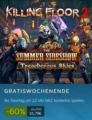 [Steam] Killing Floor 2 Gratis bis Sonntag 22.00 Uhr Zocken