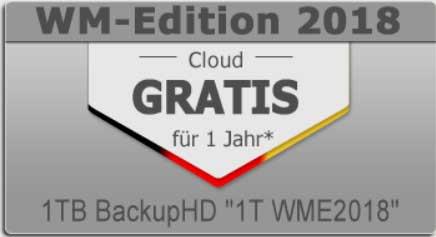 1 TB Online-Datenspeicher/Cloud-Festplatte für 12 Monate kostenlos