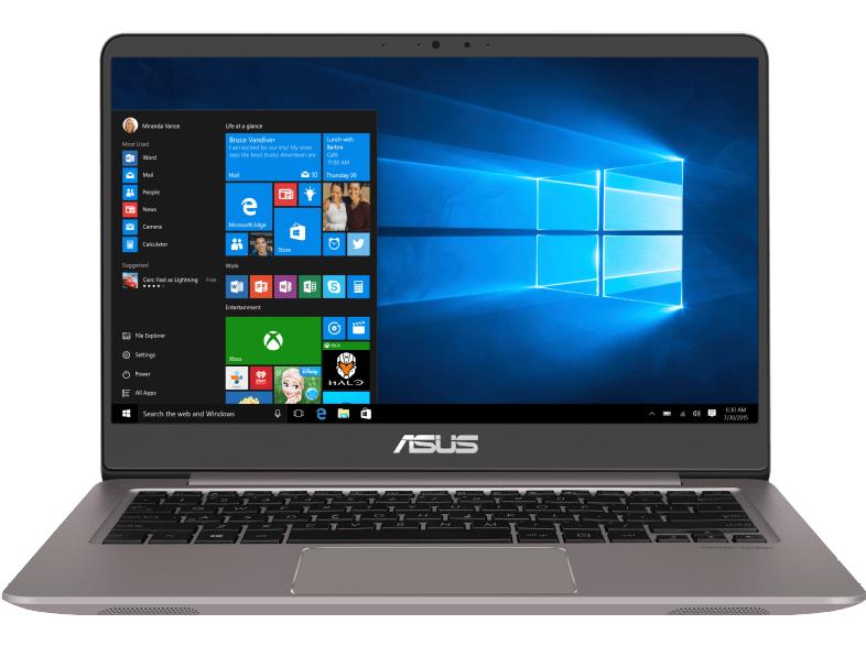 ASUS UX3410UQ-GV132T, Notebook mit 14 Zoll Display, Intel® Core™ i7-7500U, 8 GB RAM, 512 GB SSD, GeForce 940 MX
