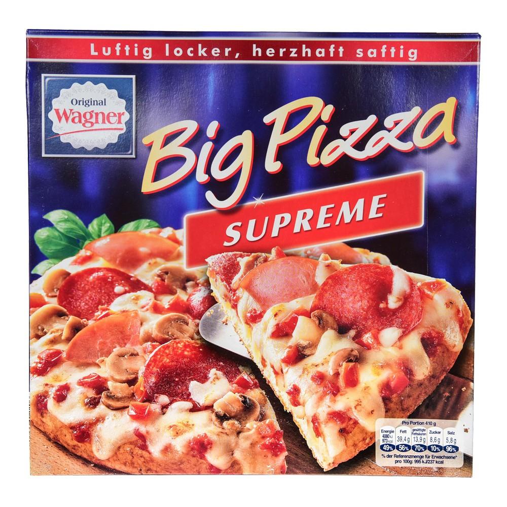 (Aldi Süd) Wagner Big Pizza Supreme & BBQ-Chicken für 1,89 €