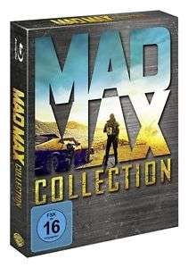 [alphamovies/ebay, Amazon, Saturn] Mad Max - Collection Blu-ray Box - (Teil 1+2+3+4 Fury Road) (1-4)
