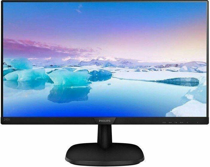 Philips V-Line 243V7QDSB Monitor - Full HD IPS, Flicker-free (Comtech)