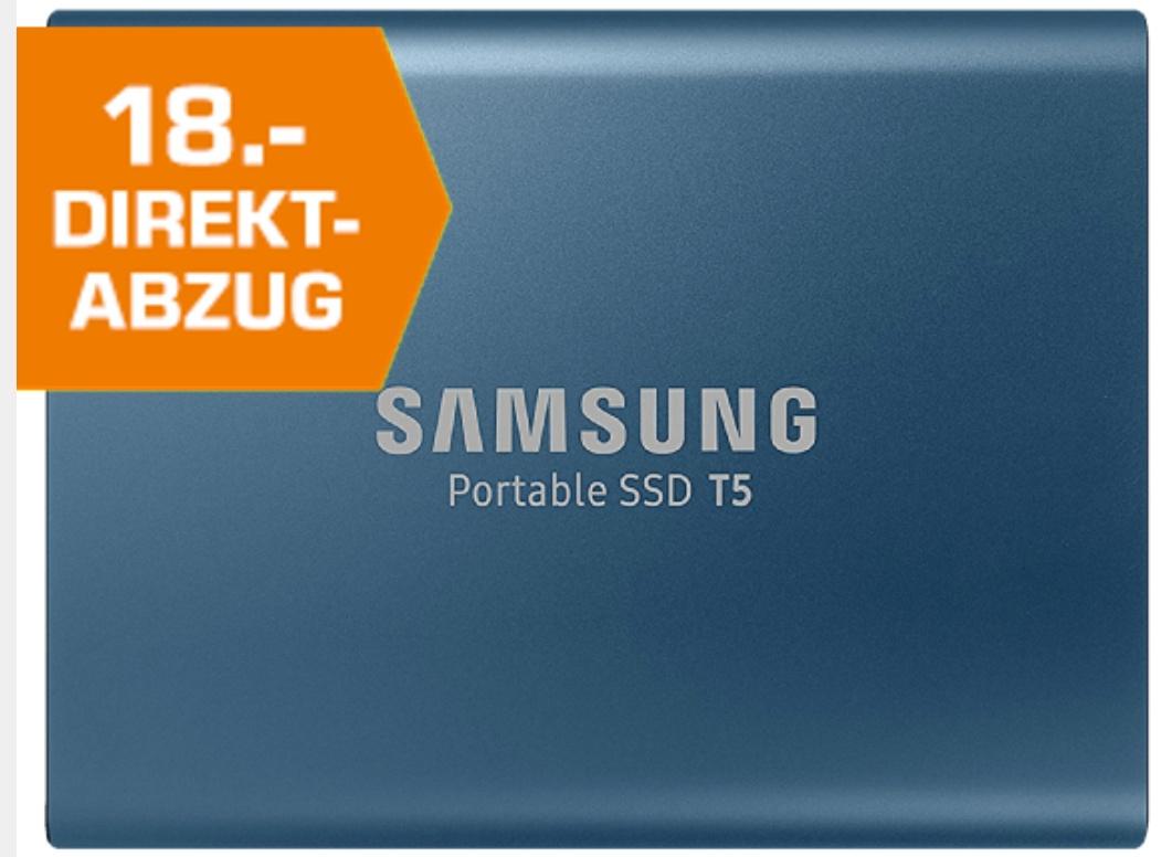 SAMSUNG PORTABLE SSD T5, FESTPLATTE, EXTERNE SSD, 250 GB