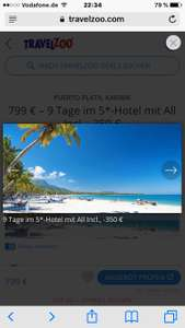Dom Rep. 799 € – 9 Tage im 5*-Hotel mit All Incl., -350 €