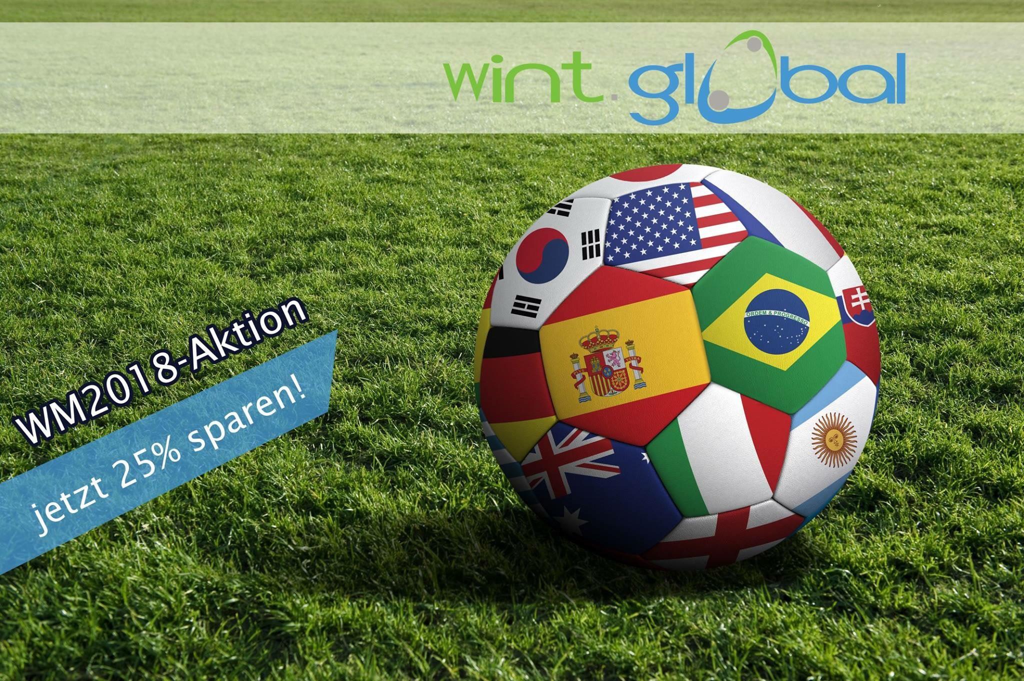 wint.global GmBH - 25% Rabatt Webhosting
