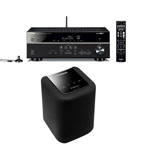 Yamaha RX-V481D Receiver + Yamaha MusicCast WX-010 Netzwerklautsprecher für 353€ [Amazon]