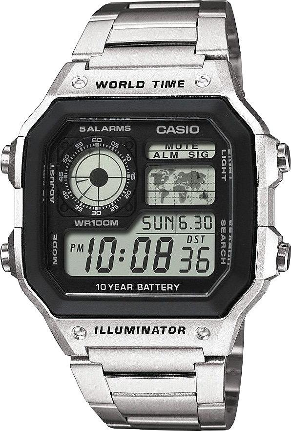 Casio Collection AE-1200 Herren Digital Armbanduhr aus Edelstahl für 21,23€ (Amazon.co.uk)