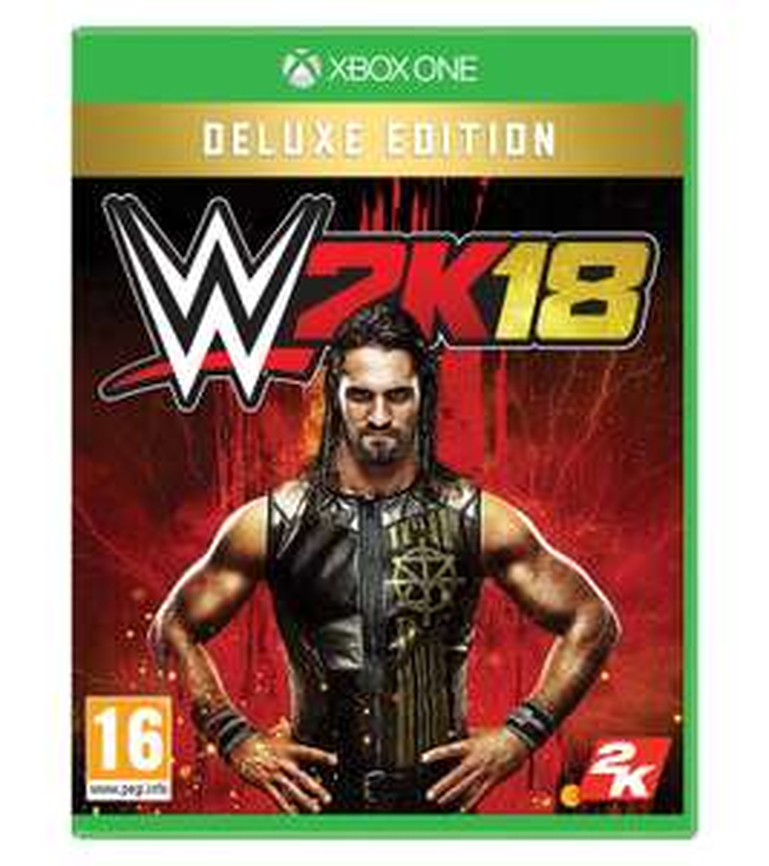 WWE 2K18 Deluxe Edition (Xbox One) für 24,32€ (Amazon.it)