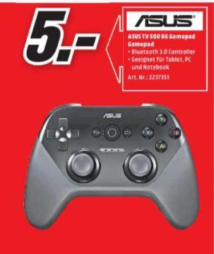 [Regional Mediamarkt Bremerhaven /Wilhelmshaven] ASUS TV500BG Game Pad drahtlos Bluetooth Schwarz (zb. für PC.Android) für 5,-€