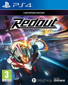 Redout Lightspeed Edition (PS4) für 13,58€ (Amazon IT)