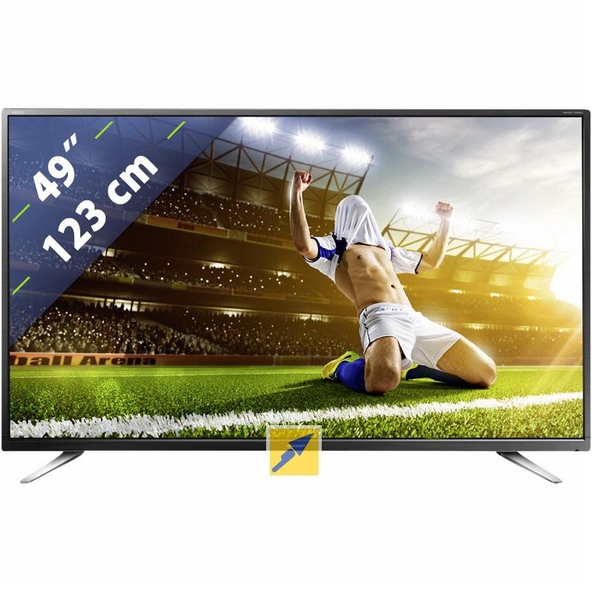49 Zoll 4K/UHD Fernseher von Sharp (Sharp LC-49CUG8062E) portofrei für 399€ mit Masterpass